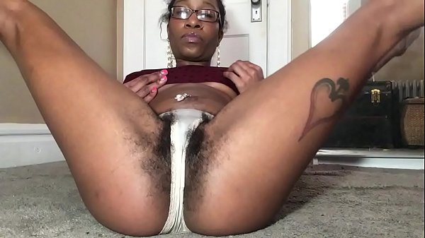 Panties hairy, Hairy ebony