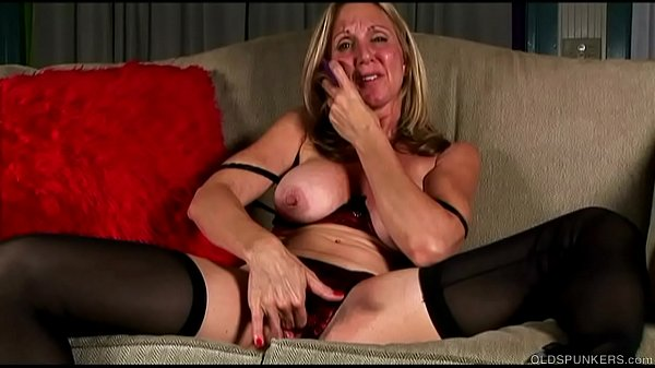 Stockings pussy, Old pussy, Old fucking