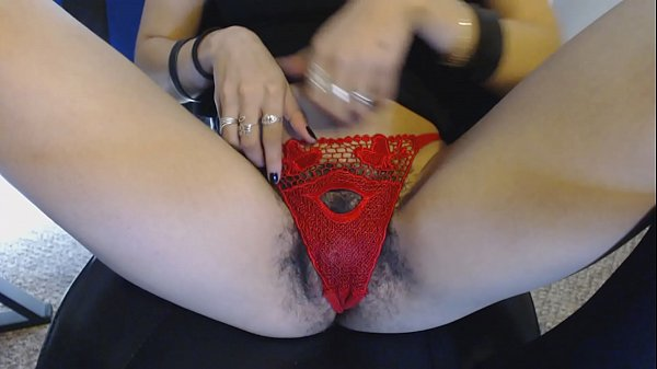 Wet panties, Panties hairy