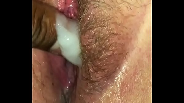 Hairy creampie