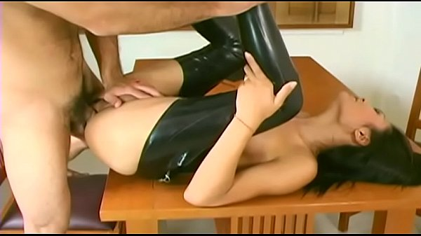 Leather anal